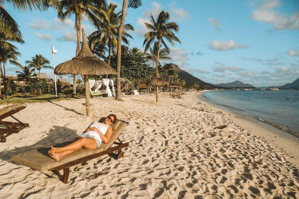 Flic en Flac, Mauritius beach, Mauritius