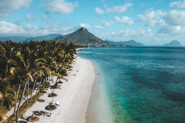 Flic en Flac, Mauritius, Mauritius beach, tropical beach