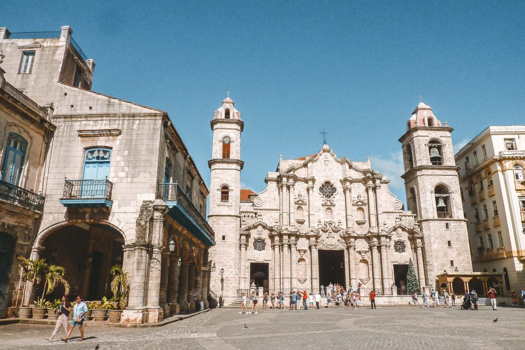 Things to do in Havana, Visiting Havana Cuba, Havana cathedral, Places to visit in Cuba