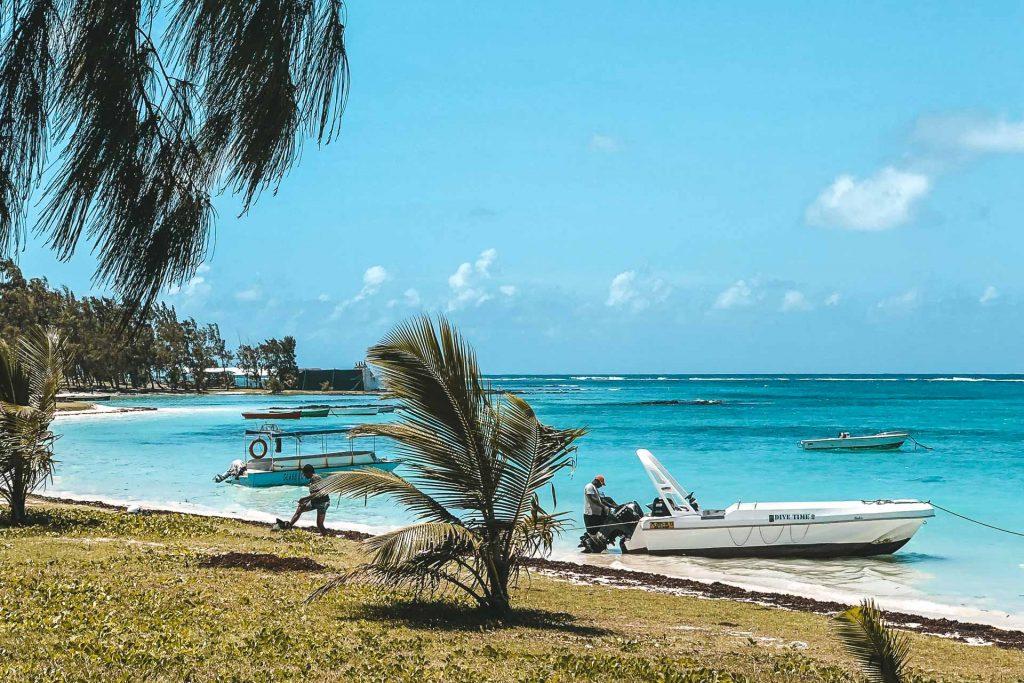 Trou d'eau douce, Mauritius, Mauritius beach