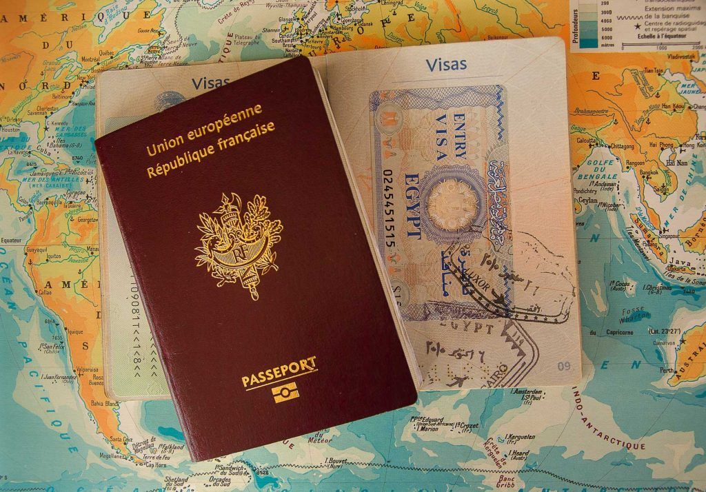 First time flying, passport, travel documentation