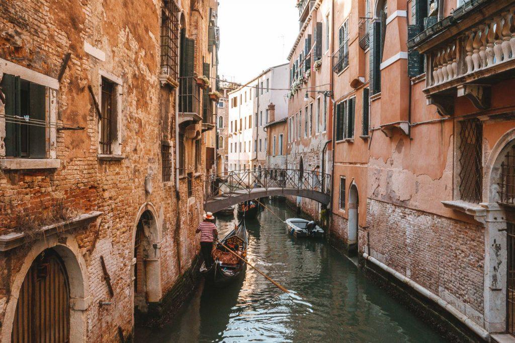 Venice, Venice canals, Venice bridges, Venice Gondola, Gondola in Venice