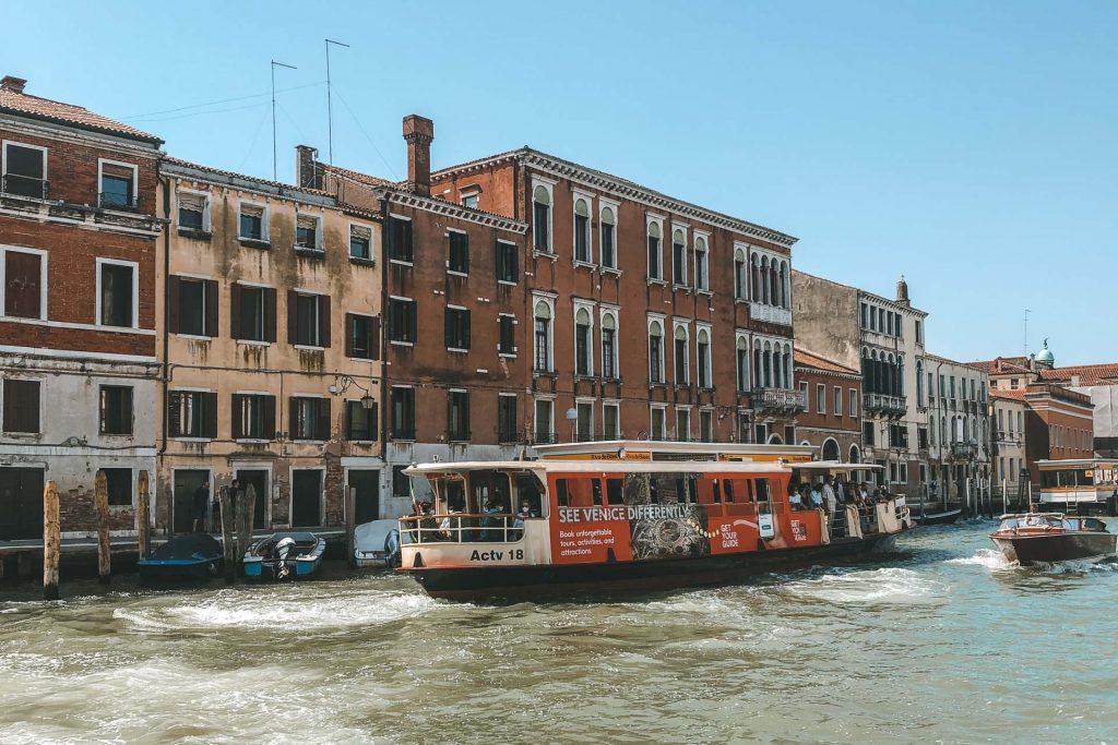 Vaporetto Venice, Vaporetto, Transport in Venice, Grand Canal Venice