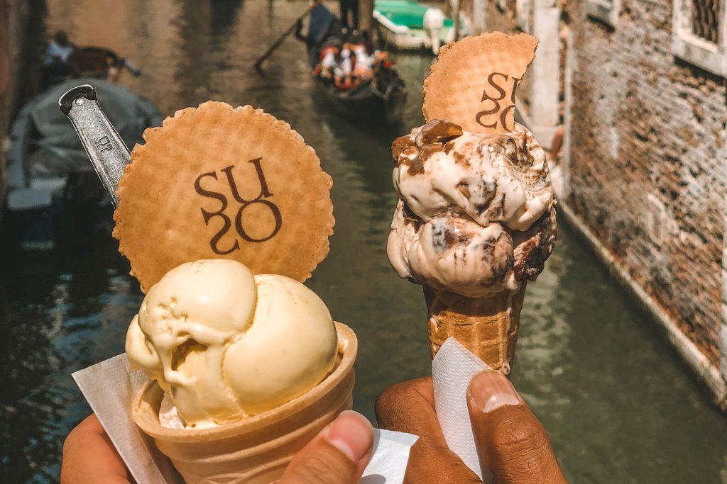 Suso Venice. Suso ice cream, Gelato in Venice, Gelato, Gelato in Italy